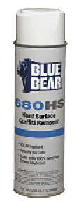 Franmar's Blue Bear asphalt remover and graffiti remover