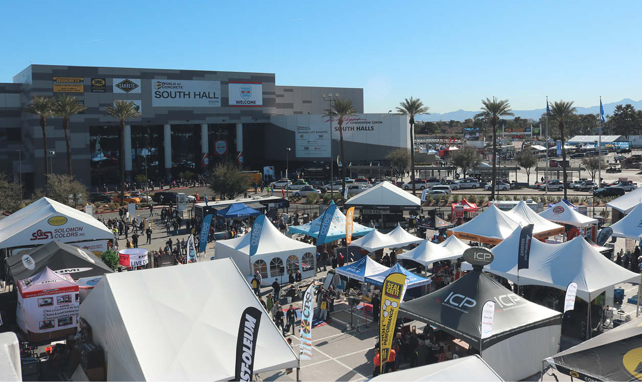 World of Concrete is once again on a roll.
