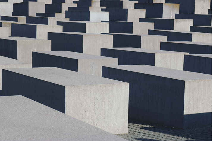 In rather ordinary gray concrete, Berlin's Holocaust Memorial makes an extraordinary statement.