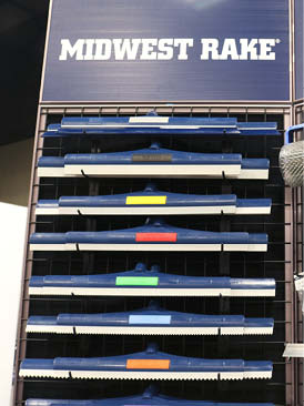 MidWest Rake displayed its SpeedSqueegee tools designed to apply resinous flooring materials such as epoxy and urethanes