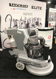 After the launch of the new Lavina Elite Series in January 2019, Superabrasive's 30-inch grinder, L30GE, continues to be one of its most popular machines.