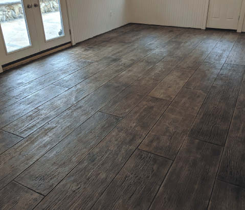 Flooring featuring wood plank textures has been popular for about four years now. It will likely remain popular for another few years before it falls out of favor.