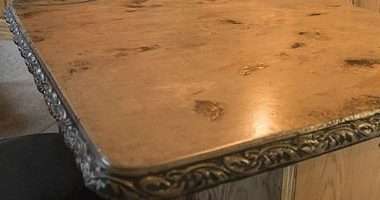 Decorative Concrete Tips: Marbleizing Cast-in-Place Concrete Countertops