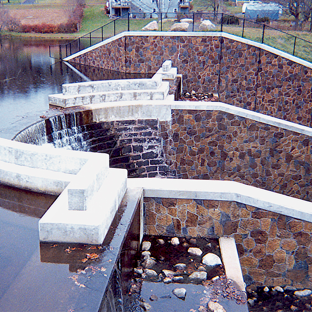 Stone-Crete form liners are molded from natural stone surfaces.