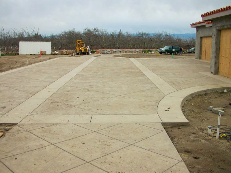 Organizing and chalking a project leads to a successful decorative driveway with no mistakes or delays.