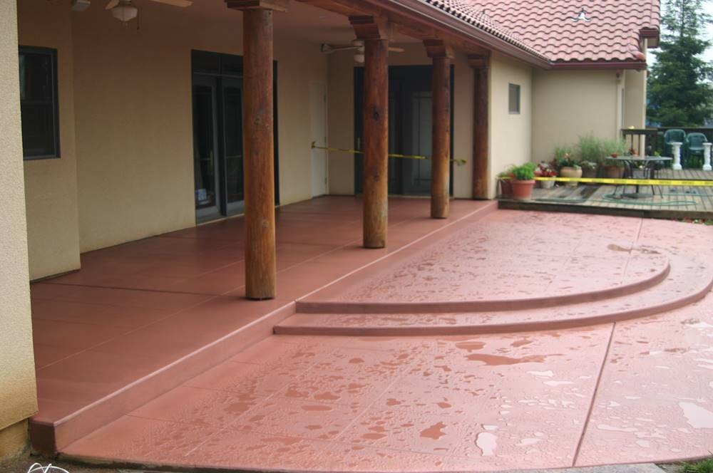 Outdoor Concrete Stains Pros And Cons, Staining Outdoor Concrete Floors