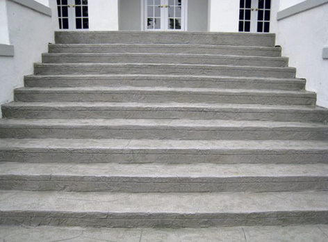 In comparison to the before steps, the restoration to these concrete steps was dramatic.