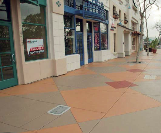The downtown area of Camarillo, Calif., underwent a large-scale renovation.