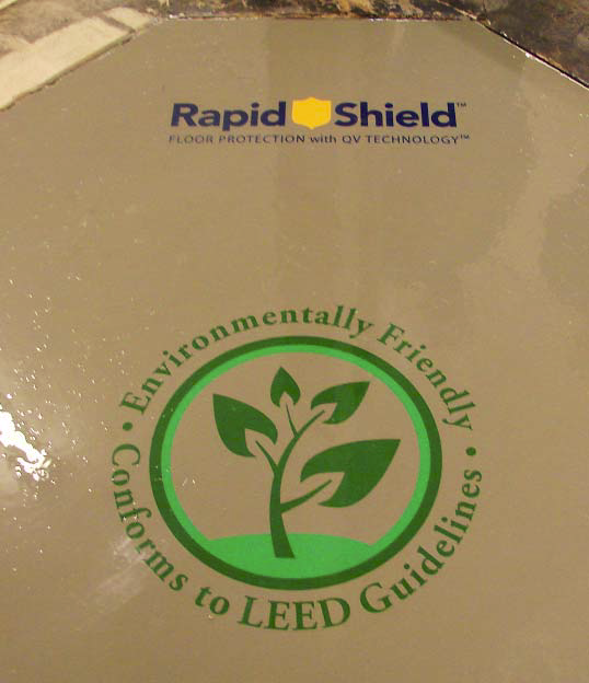 A grouping of logos that were applied with RapidShield