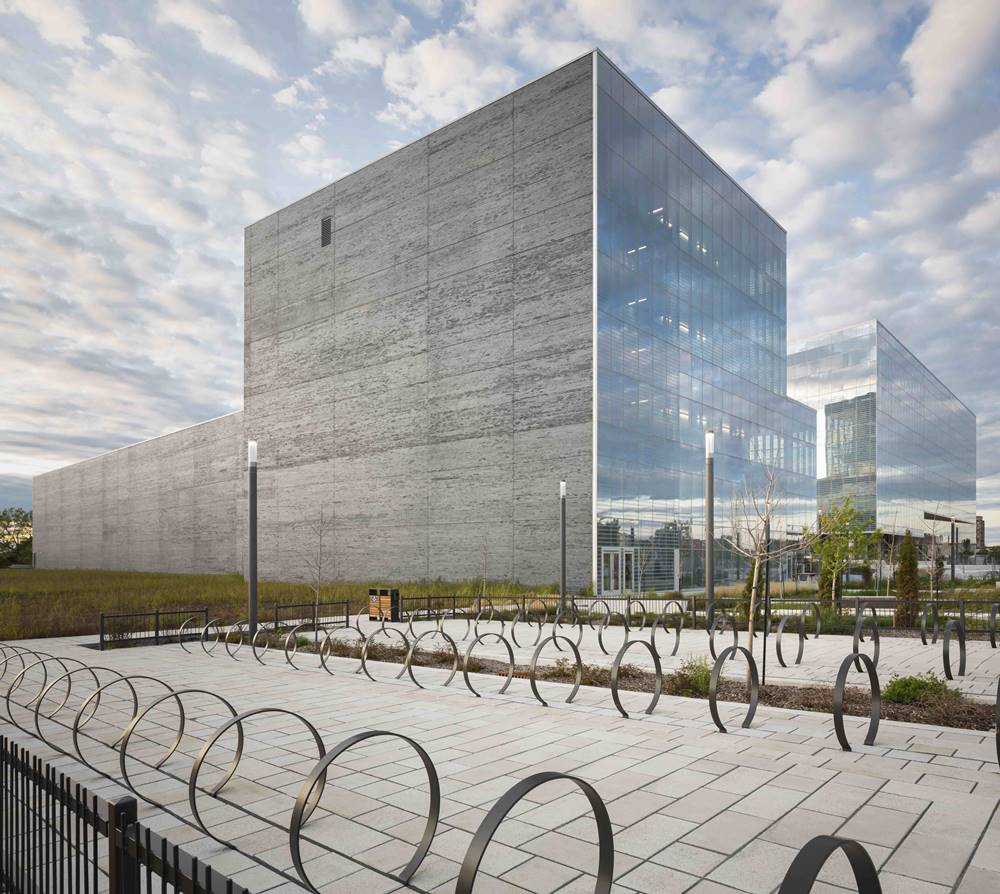 Universite de Montreal's Complexe Campus Mid Rise building - award winning