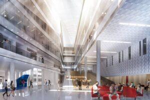 Inside the Universite de Montreal Complexe