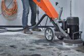 delaminating polished concrete
