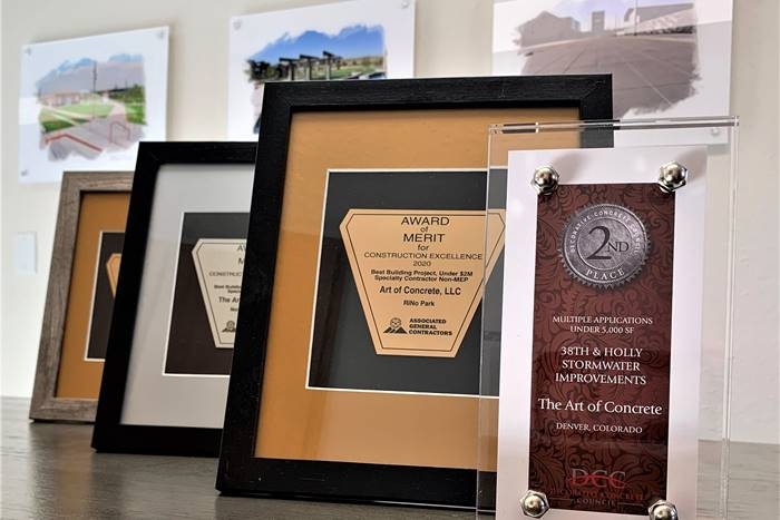 decorative concrete competitions can give award winners many benefits