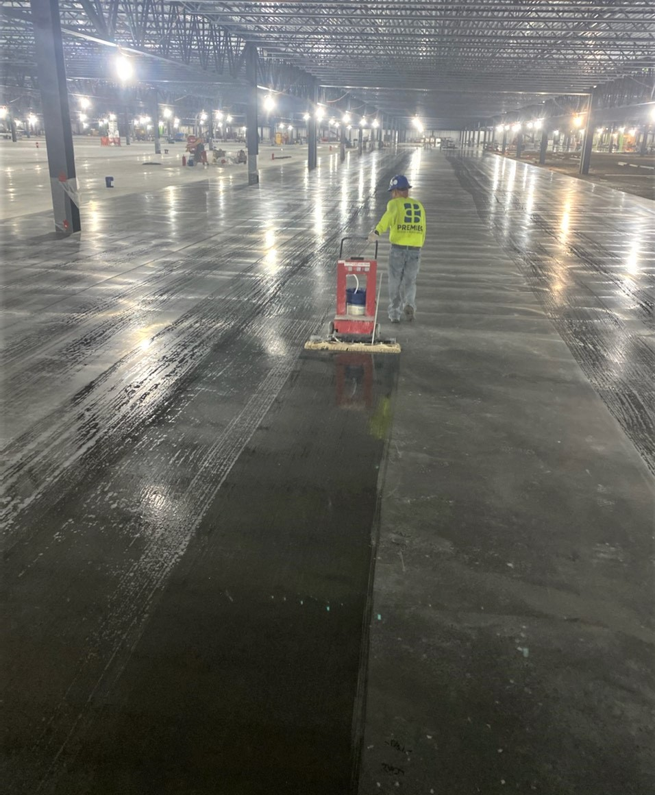 Automated chemical concrete applicator, Ultra-Trak by Fas-Trak
