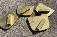 A pile of diamonds for polishing concrete
