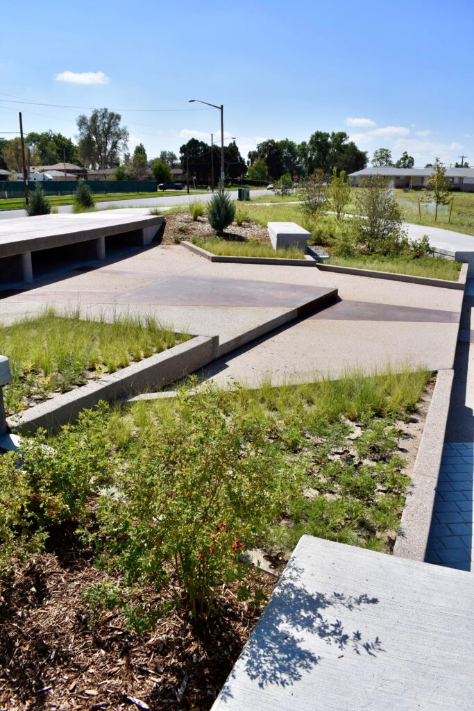 concrete sustainability can also mean rainwater management