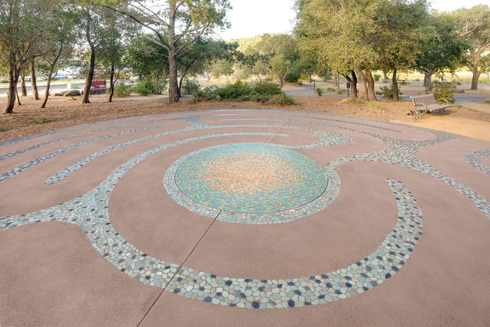 San Diego, California, for Hal Brown Park - lithomosaic
