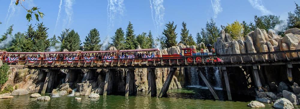 Concrete Theming at an amusement park