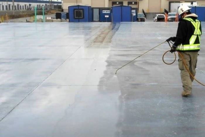 properly cured concrete is important for all finishes, including polished concrete