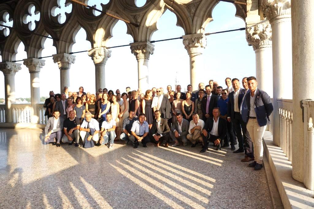 employees of ideal work at doge's palace