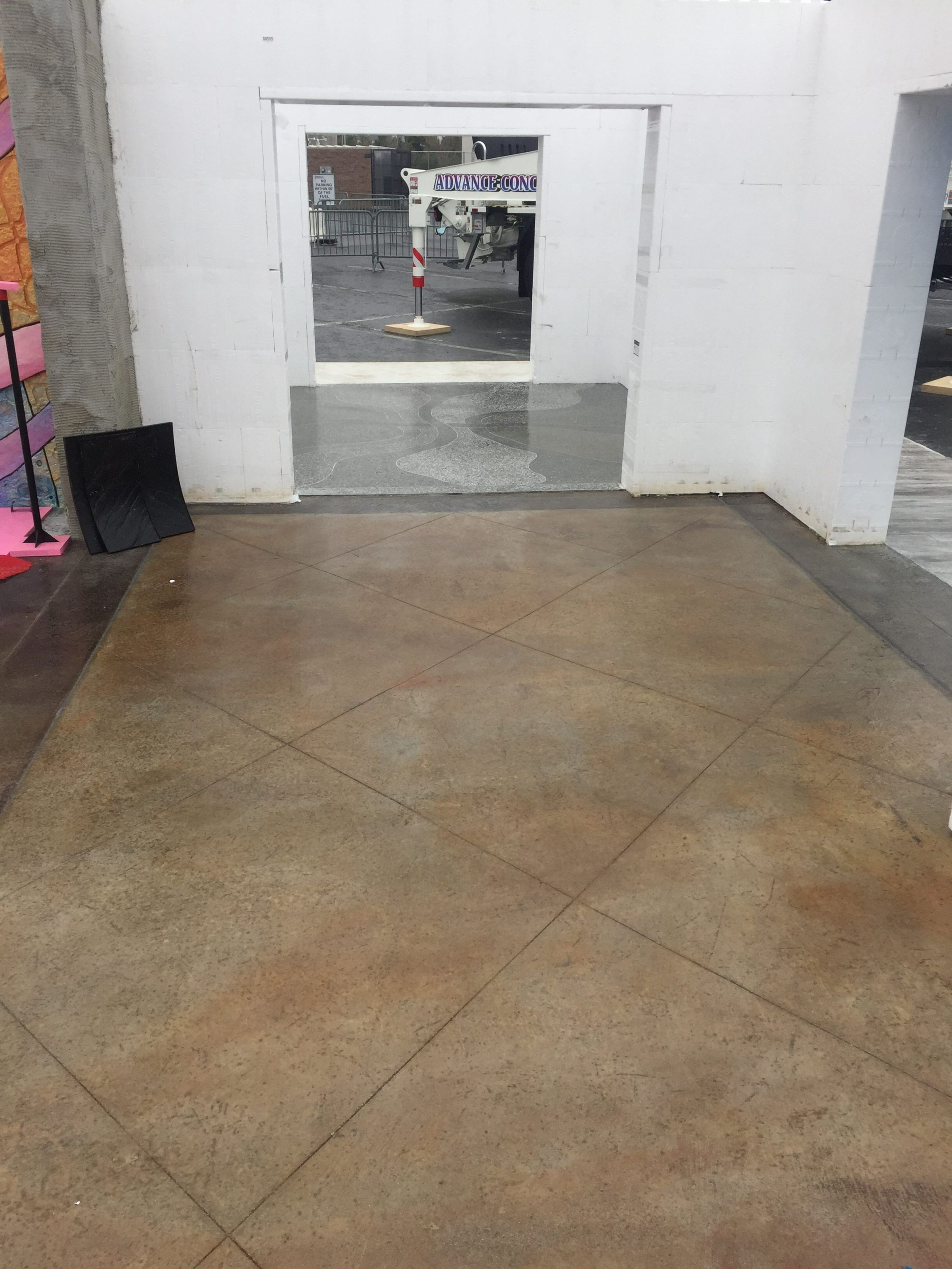 decorative concrete live at woc