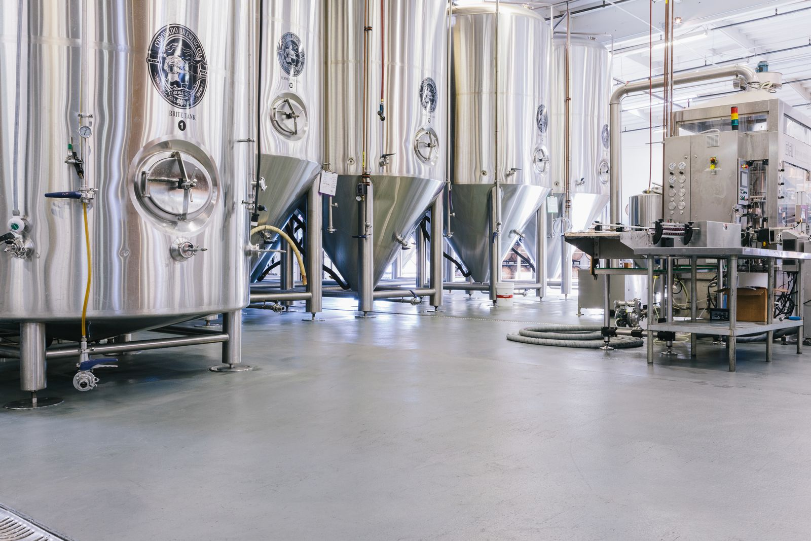 Stonhard concrete floor in brewery faced challenges