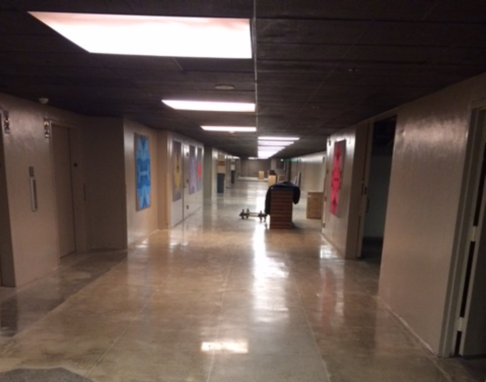 The concrete division at Bay Area Concretes placed large patch areas of new concrete to alleviate the unstable and dilapidated concrete areas, blending them in, while PolishedCrete, using ProCrete and Prosoco products, delivered the final finished floor.