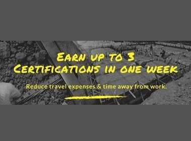 Earn up to 3 certifications