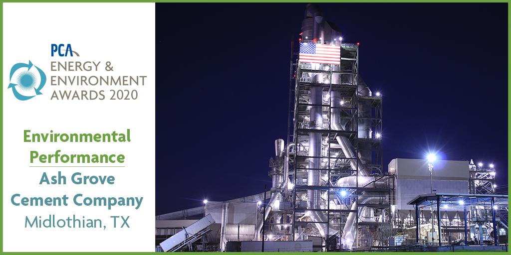 PCA energy and environment award winners - Environmental Performance