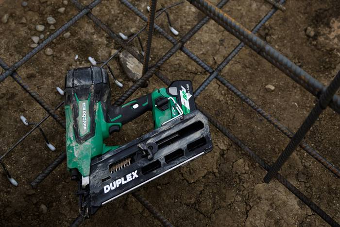 Metabo HPT Expands MultiVolt System with Duplex Nailer