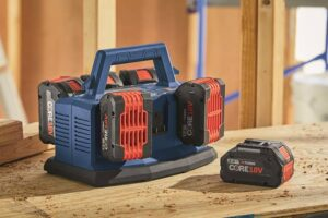 multi-bay charger by Bosch