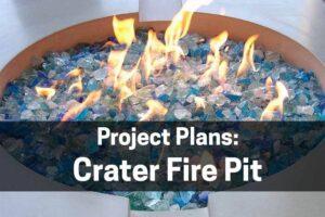 Fire Pit Plans for concrete fire pits