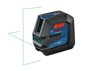 new Bosch self-leveling lasers