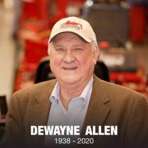 J. Dewayne Allen passes away in 2020.