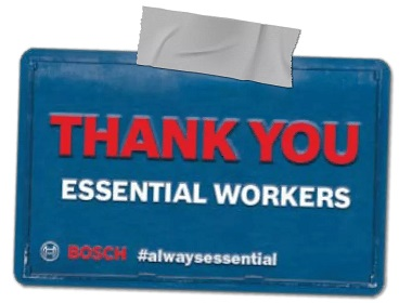 a big thank you to trade workers - giving back to trade workers
