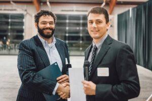 Thomas Glenn receives Gaining Strength Award from ASCC in 2020.