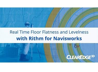 For Faster Floor Flatness Analysis - Rithm 1.9