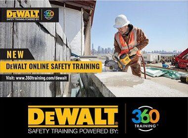 Dewalt and Osha Team up for Safety