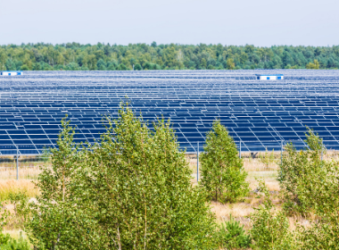 new solar field by LafargeHolcim