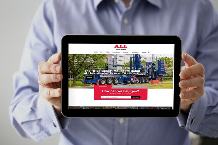 ALL Family redesigns company website