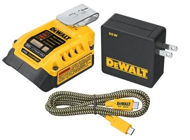 Portable USB Charging Kit by Dewalt