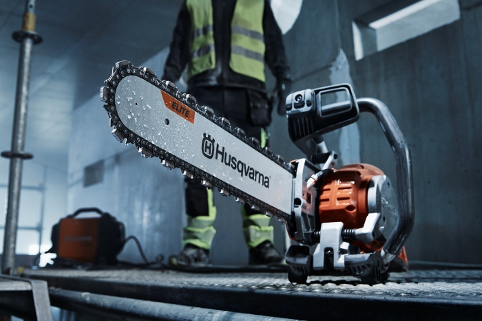 Concrete Cutting Chain and Bar by Husqvarna