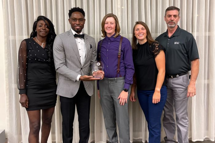 KAI Build awarded Breaking Barriers Contractor of the Year for 2021