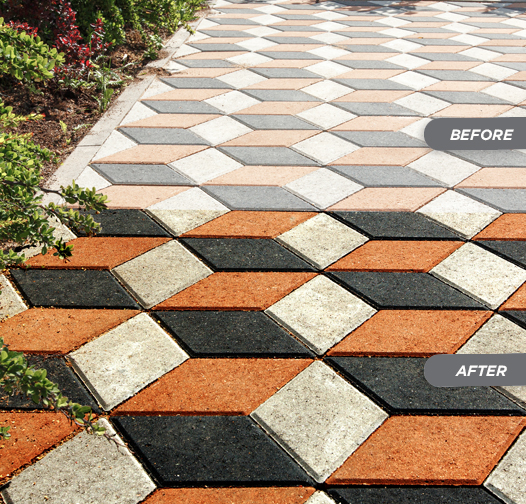 Stain-Proof Paver Enhancing Sealer