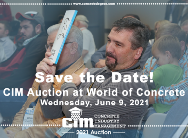 CIM Auction Save the Date 2021