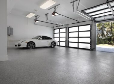 New American home garage features euclid product