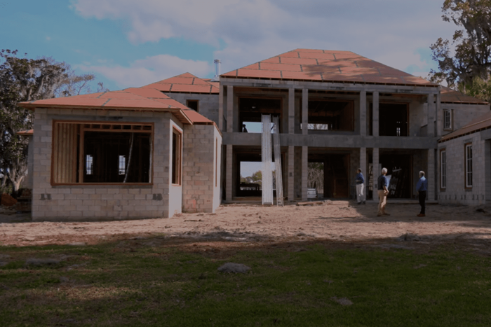 unlike wood in construction, Concrete Masonry Costs Remain Stable as seen here in his block house.