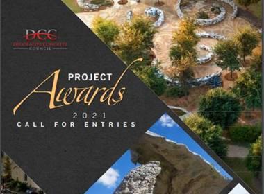 Decorative Concrete Council Project Awards Deadline