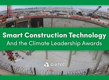 Climate Leadership Award Winner uses SmartRock Technology