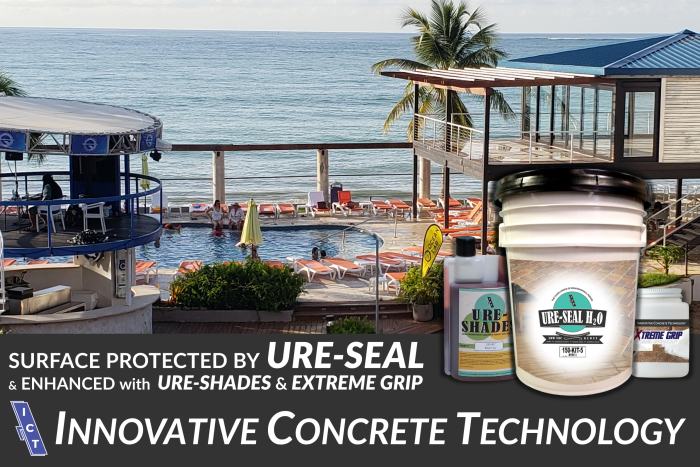 New products by Innovative Concrete Technology